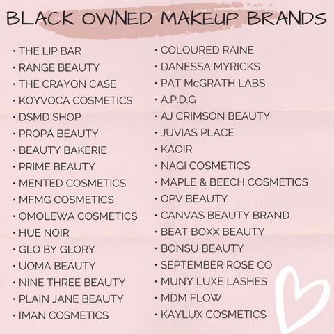 Black beauty brands to support ✨✨