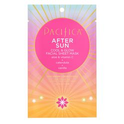 After Sun Cool & Glow Facial Sheet Mask