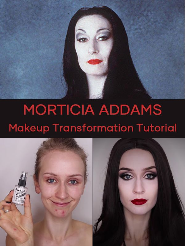 Since I was a girl I have liked goth makeup especially the movie《The Addams Family》... | Cherie