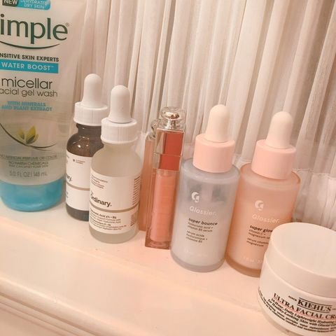 simple hydrating skincare routine!!