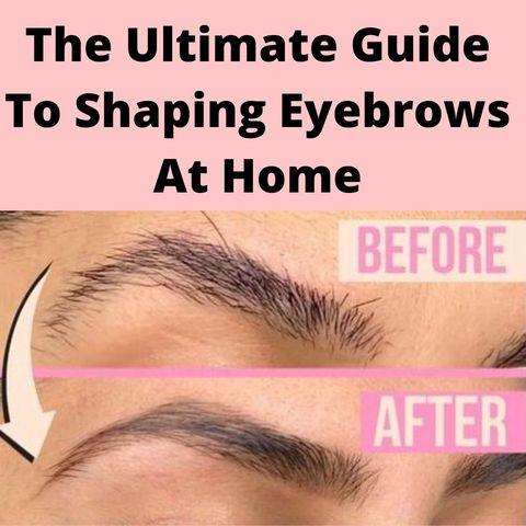 Only 5 steps to get perfect eyebrows at home!
