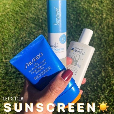 Let's talk about Sunscreen habits!