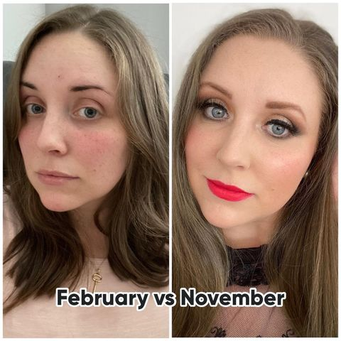 My beauty year in review 👏🏻