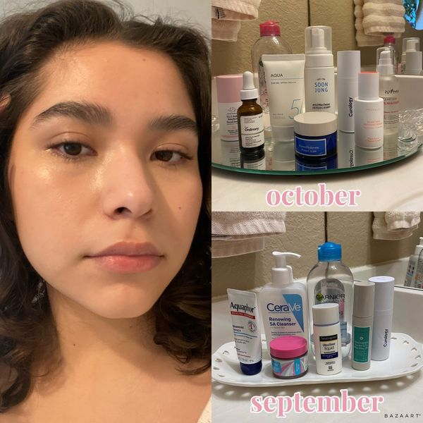 update skincare routine for fungal acne! | Cherie