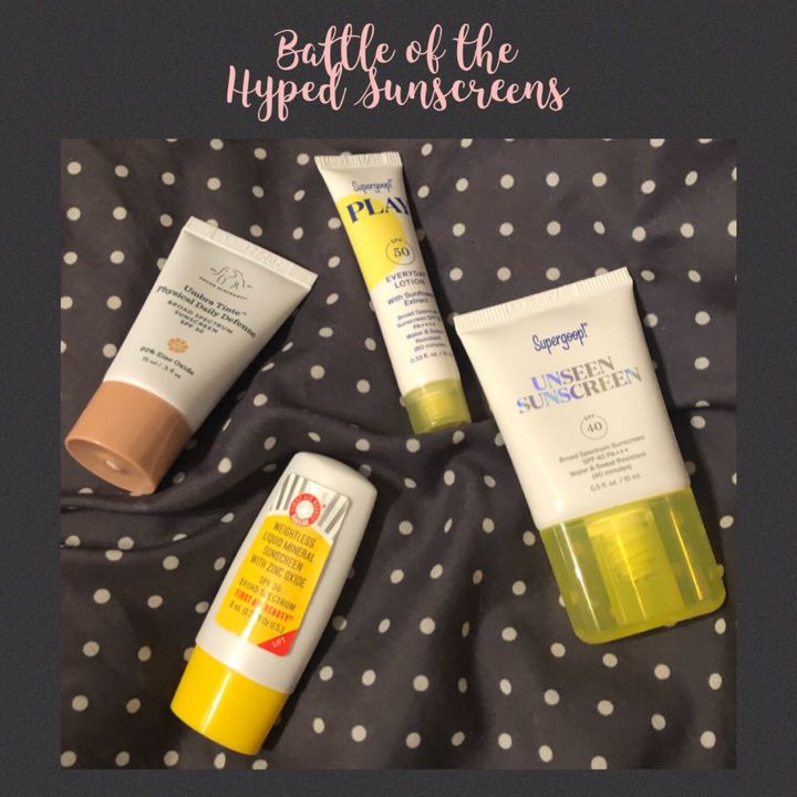 Battle of the Hyped Sunscreens | Cherie