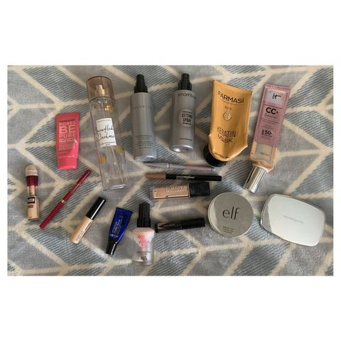 So many product empties