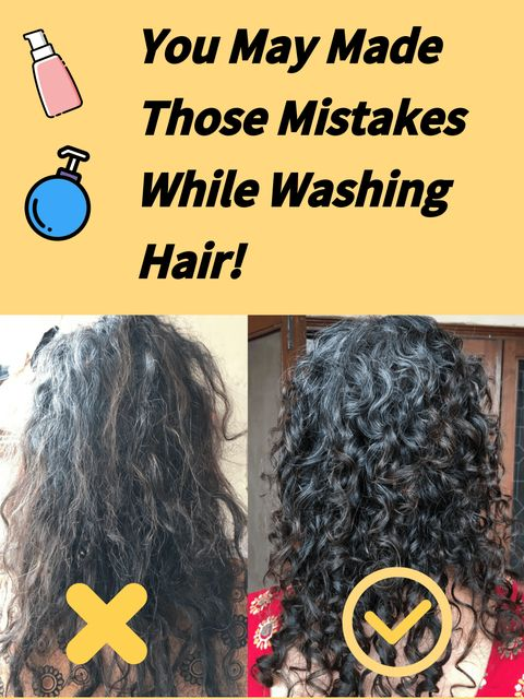 Dry, Frizzy Curly Hair? You May Made Those Mistakes While Washing Hair!