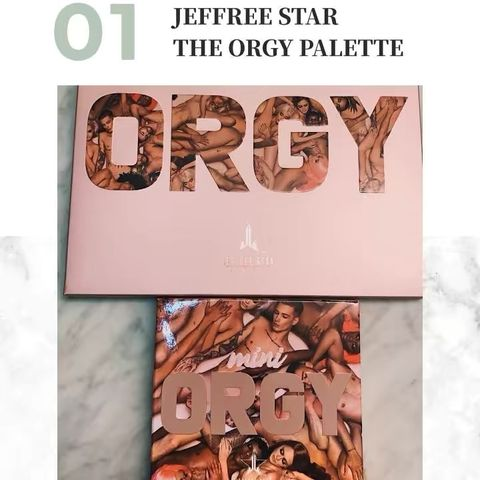 The Orgy Palette // First Impressions + Swatches