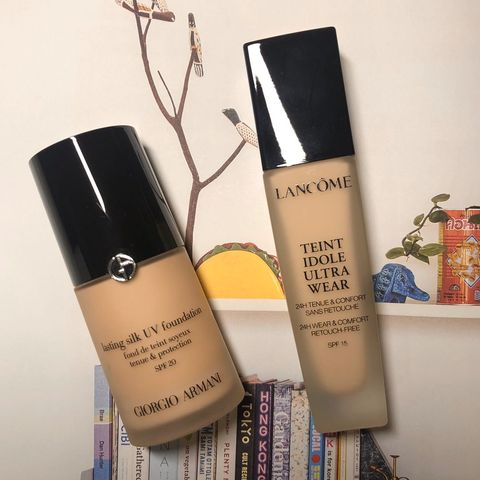 Foundation for combination skin