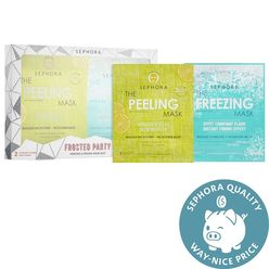 Frosted Party Freezing & Peeling Mask Duo