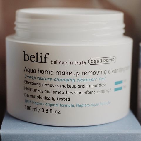 NEW! Belif launch - a cleansing balm!