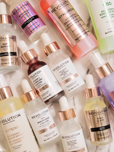 All my fave serums