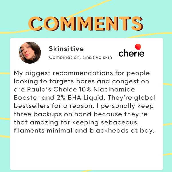 Picked Comments: Save Your Blackheads    Cherie