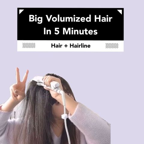 Big Voluminous Hair in 5 min!