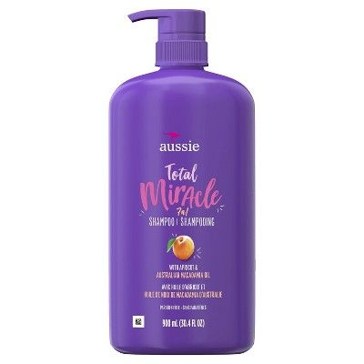 Total Miracle Shampoo with Apricot & Macadamia For Damage Hair