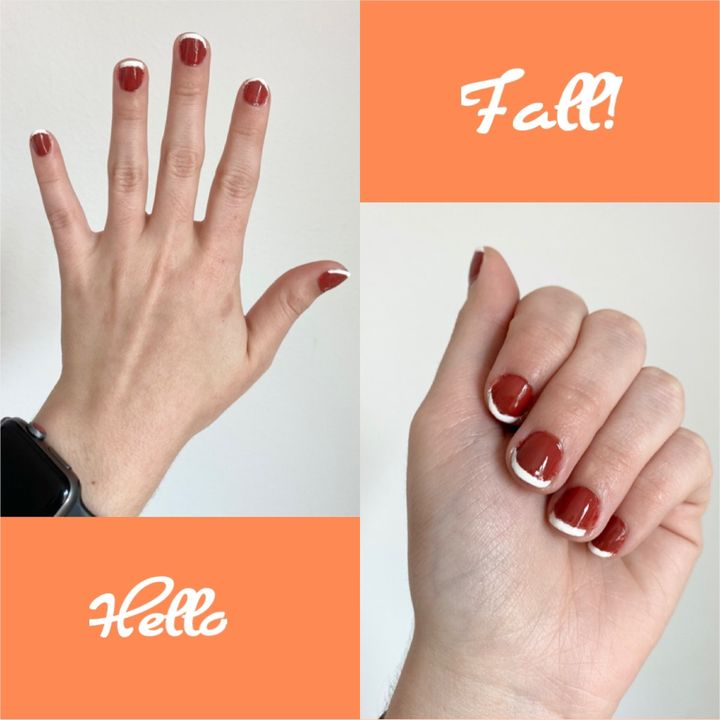 PSL-inspired Mani + Pedi Tutorial