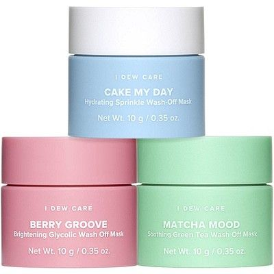 Mini Scoops Wash-Off Mask Set, I DEW CARE, cherie