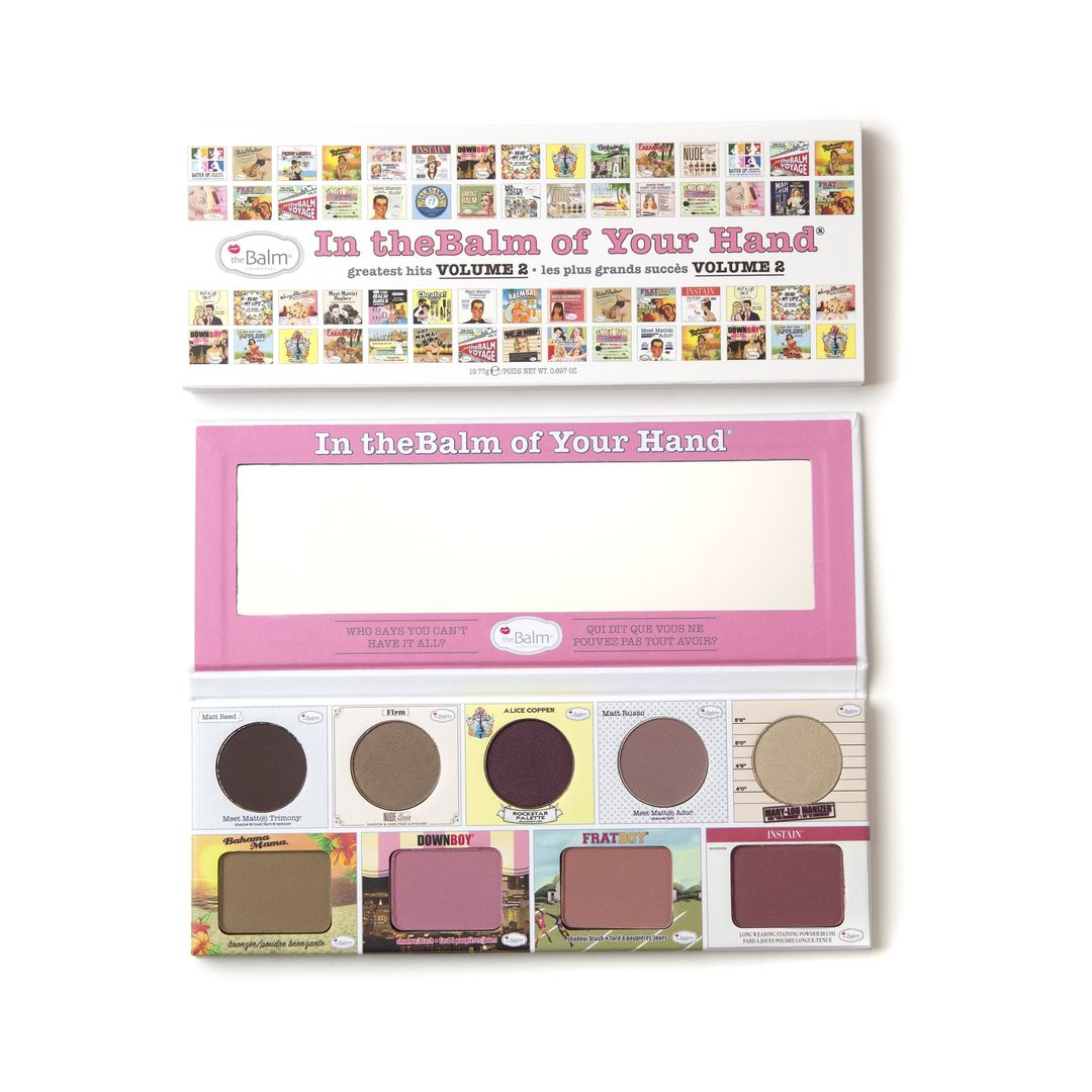 In theBalm of Your Hand Greatest Hits Volume 2 Palette