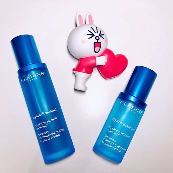 This is how Clarins quenches my skin thirst! | Cherie