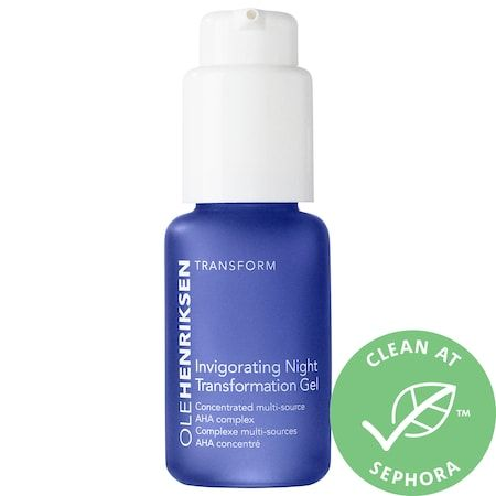 Invigorating Night Transformation Gel, OLE HENRIKSEN, cherie