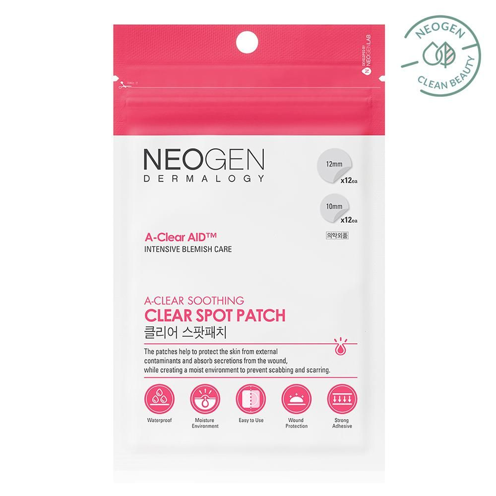 Neogen Dermalogy A-Clear Aid Soothing Spot Patch
