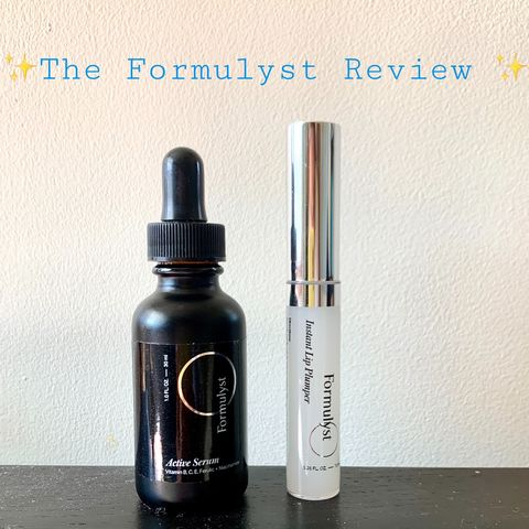 ⭐️Brand Review: The Formulyst