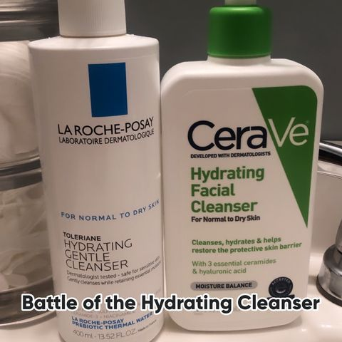 I love a good hydrating cleans