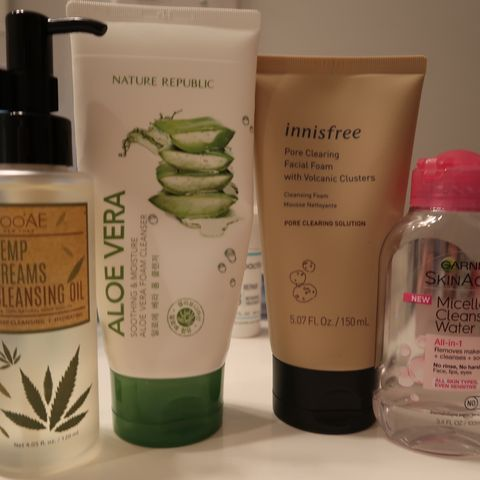 Cleansers: Skincare the Korean Way