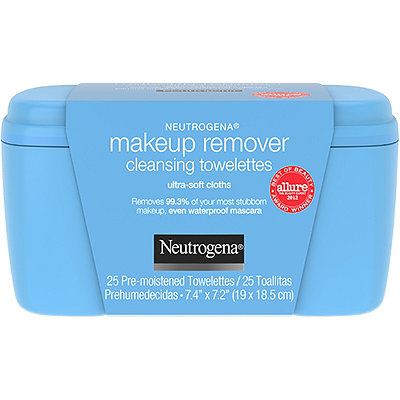 Makeup Remover Cleansing Towelettes, Ultra-Soft Cloths, Neutrogena, cherie