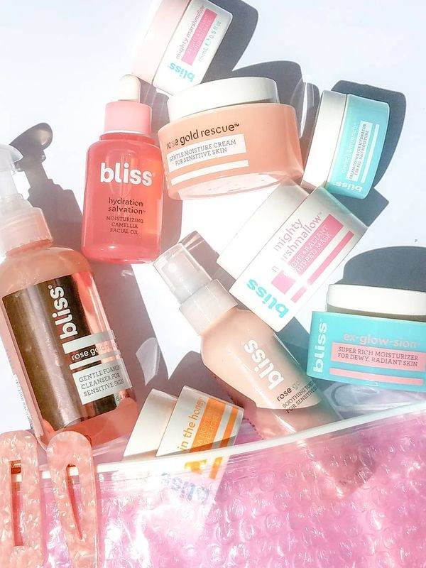 Bliss The newbies in my little Bliss assortment are the Rose Gold Gentle Foaming Cleanser... | Cherie