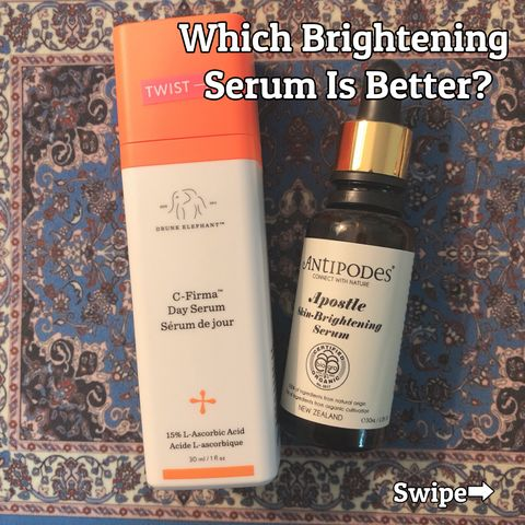 ❓This Or That ❓$ 80 VS $ 59, Brightening Serums Competition🔅🔅