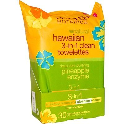 Natural Hawaiian 3-in-1 Clean Towelettes