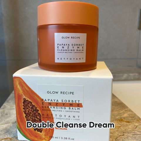 A nice touch to the double cleanse