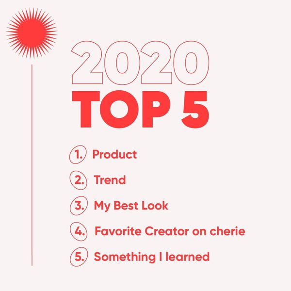 What are your 🏷 Top 5 of 2020 | Cherie