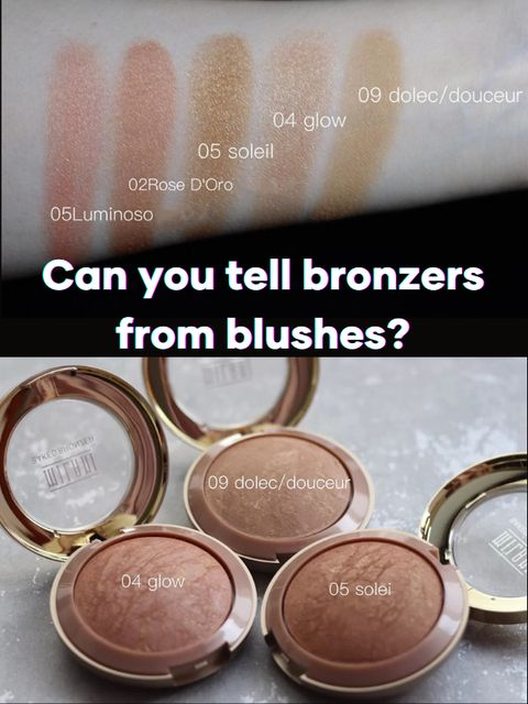 Bronzer vs. Contour: Which one is right for you?