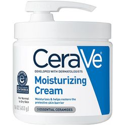 Moisturizing Cream For Normal To Dry Skin With Pump