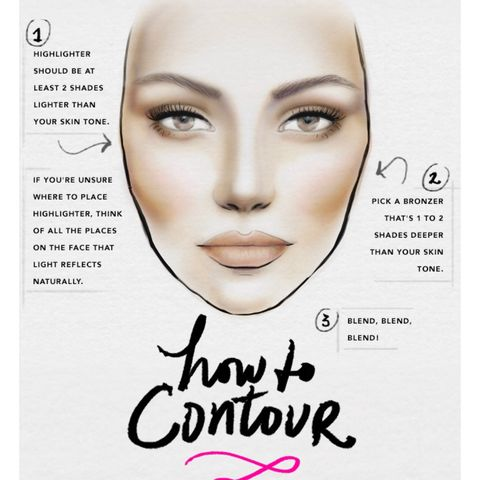 How to contour ❤️ Not my guide* just what I use