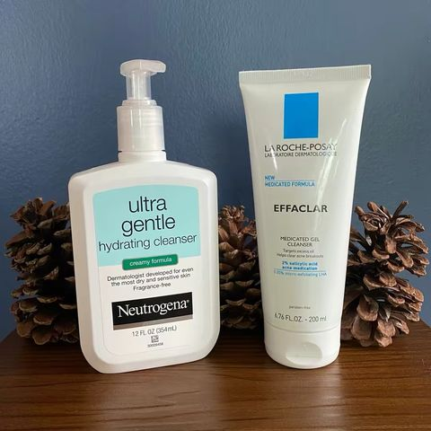 My top 2 cleansers for acne/combo skin