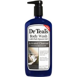 Activated Charcoal and Black Lava Salt Body Wash
