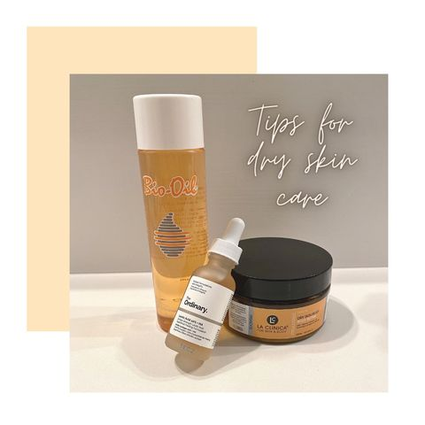 Tips for dry skin care