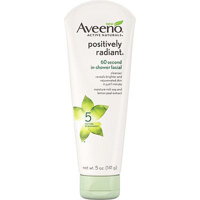Positively Radiant 60 Second In-Shower Facial
