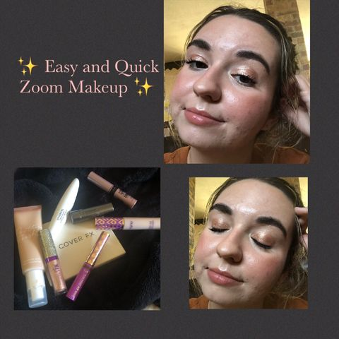 ✨ Easy and Quick Zoom Makeup ✨