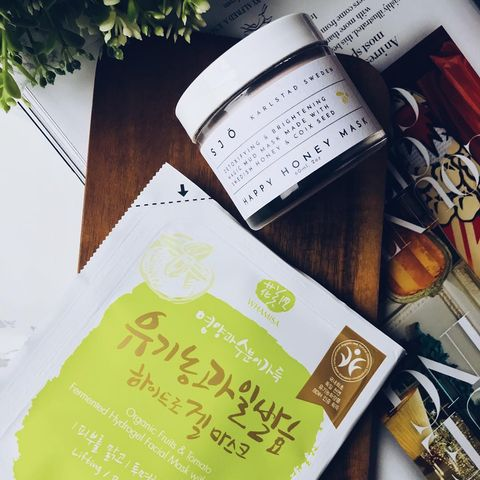 sjoskin Happy Honey Mask: If I