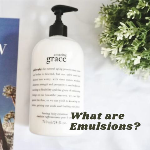 💫Why You Need to Add Emulsions to Your Skincare Routine