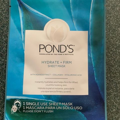 Ponds Hydrate + Firm Sheet Mask (Not Listed)