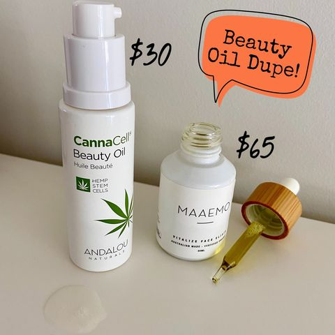 Beauty Face Oil Dupe!