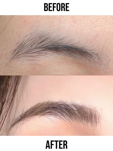 Following the brushed-up brows trend, you can simply get it at home!