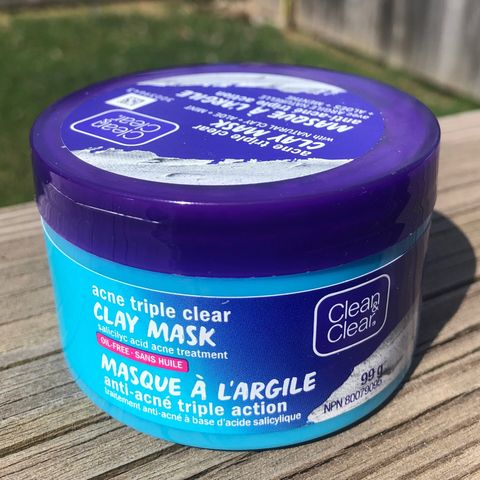 Clean and Clear Acne Clay Face Mask