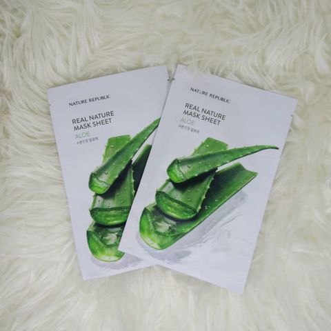 Aloe Sheet Mask that you have to try...