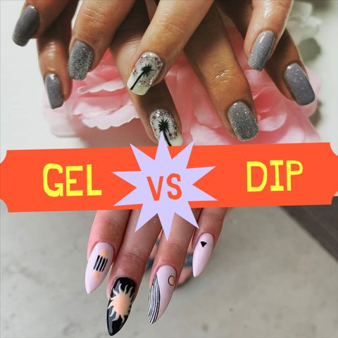 Gel vs. Dip Manicure - All You Need To Know Before Going To The Salon!